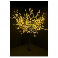 Дерево NEON-NIGHT САКУРА (CBL-N02) D=2.0m, H=2.4m), 1728 диодов, ЖЁЛТЫЙ 531-121