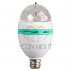 Диско-лампа светодиодная Е27 220В Neon-Night