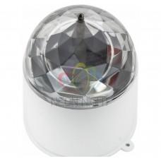 Диско-лампа светодиодная в компактном корпусе, 220В, Neon-Night