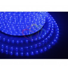 Дюралайт светодиодный, эфф.мерц., синий, 220В, диаметр 13 мм, бухта 100м, NEON-NIGHT