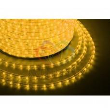Дюралайт светодиодный NEON-NIGHT желтый, 220В, диаметр 13 мм, бухта 100м 121-251