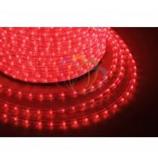 Дюралайт светодиодный, пост.свеч., красный, 220В, диаметр 13 мм, бухта 100м, NEON-NIGHT
