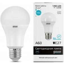 Светодиодная лампа Elementary LED A60 15W E27 4100K 1/10/40 Gauss