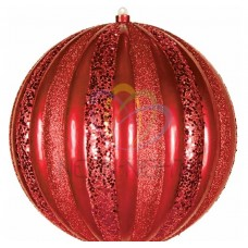 Елочная фигура NEON-NIGHT Арбуз, 25 см, цвет красный 502-082