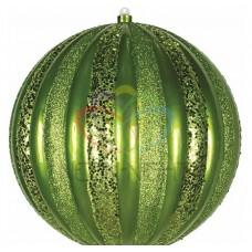 Елочная фигура NEON-NIGHT Арбуз, 30 см, цвет зеленый 502-084
