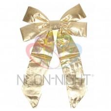 Елочная Фигура NEON-NIGHT Бантик 45 см, цвет золотой 502-511