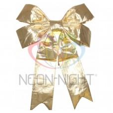 Елочная Фигура NEON-NIGHT Бантик 91 см, цвет золотой 502-531