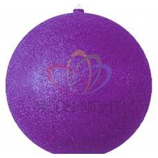 """Елочная фигура """"Шарик"""", 20 см, цвет фиолетовый NEON-NIGHT"""
