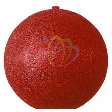 """Елочная фигура """"Шарик"""", 25 см, цвет красный NEON-NIGHT"""