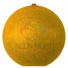 Елочная NEON-NIGHT фигура Шарик, 25 см, цвет золотой 502-141