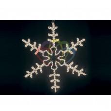 Фигура NEON-NIGHT BN-107 Большая Снежинка белая, размер 95*95 см 501-313