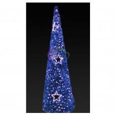 """Фигура """"Ель"""", LED подсветка, высота 5 м, синяя NEON-NIGHT"""
