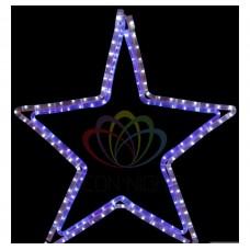 Фигура NEON-NIGHT Звезда LED светодиодная белая/синяя 56 х 60 см 501-514