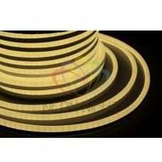 Гибкий неон светодиод NEON-NIGHT тепло-белый, 220В, бухта 50м 131-016