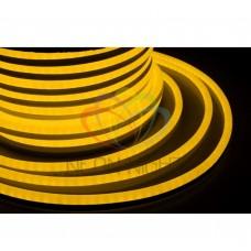 Гибкий неон светодиод NEON-NIGHT желтый, 24В, бухта 50м 131-041