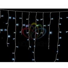 Гирлянда NEON-NIGHT Айсикл Белый 1.8х0.6м / 3 блока прозрачная PL-22NC-60-D3-1-220 251-115