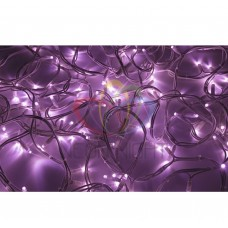 Гирлянда NEON-NIGHT Дюраплей LED 20м 200 LED белый КАУЧУК розовая 315-147