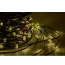 "Гирлянда ""LED Clip Light"" 12V шаг 150 мм ТЕПЛО-БЕЛЫЙ Flashing (БЕЛЫЙ) с трансформатором NEON-NIGHT"