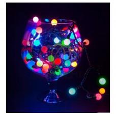 "Гирлянда ""LED - шарики"", 20м 24V МУЛЬТИ NEON-NIGHT"
