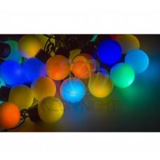 """Гирлянда """"LED - шарики"""", RGB 10 м 40 диодов 45мм, NEON-NIGHT"""
