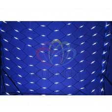 Гирлянда - сеть NEON-NIGHT Чейзинг LED 2*1.5м (288 диодов), КАУЧУК, БЕЛЫЕ и СИНИЕ диоды 217-113