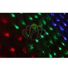Гирлянда - сеть NEON-NIGHT Чейзинг LED 2*1.5м (288 диодов), КАУЧУК, МУЛЬТИ 217-119