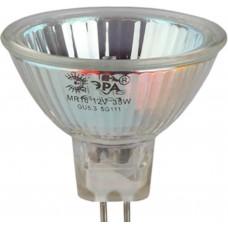 Лампа галогенная GU5.3-JCDR (MR16) -35W-230V-Cl (10/200/6000) ЭРА