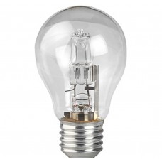 Лампа галогенная Hal-A55-50W-230V-E27-CL (10/100/2000) ЭРА