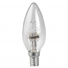 Лампа галогенная Hal-B35-42W-230V-E14-CL (10/100/6000) ЭРА
