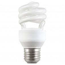 Лампа люминисцентная КЭЛ-C Е14 9Вт 2700К свеча IEK