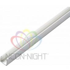 Короб пластик NEON-NIGHT для гибкого неона белый 104-421