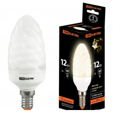 Лампа люминисцентная КЛЛ-СT-11 Вт-2700 К–Е14 TDM (витая свеча) (mini)