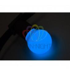 Лампа шар DIA 45 3 LED е27 СИНЯЯ NEON-NIGHT