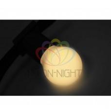 Лампа шар DIA 45 3 LED е27 Тепло-белая NEON-NIGHT