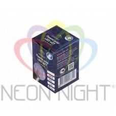 Лампа шар LED е27 ?45, 6 белых светодиодов, эффект лампы накаливания, прозрачная колба. NEON-NIGHT