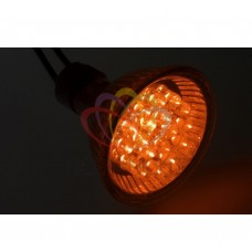 Лампа SL-MR16 (18 светодиодов) 12V желтая (цоколь GU 5.3) NEON-NIGHT