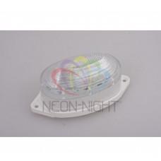 Лампа-строб NEON-NIGHT 220V, 0.5W, накладная, (30 светодиодов) желтая 415-111