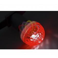 Лампа строб NEON-NIGHT E27, D50mm, красная 411-122