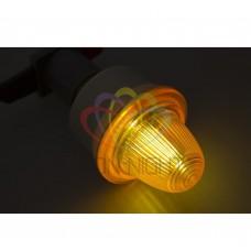 Лампа строб NEON-NIGHT E27 оранжевые 411-116