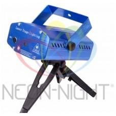 Лазерный проектор с эффектом цветомузыки, 220В NEON-NIGHT