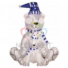 3D фигура надувная NEON-NIGHT Медведица с медвежонком 180см 511-205