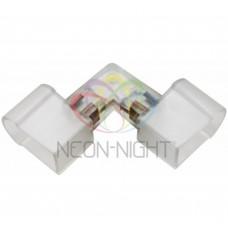 Муфта для соединения гибкого неона, внешний угол, без иглы NEON-NIGHT 134-023