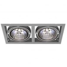 Светильник встраиваемый Lival NORM DUO E 70T CDM/942 WFLfg silver