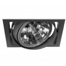 Светильник встраиваемый Lival NORM SINGLE 35T HCI/830 EL/BP 44* WFLfg silver