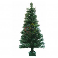 Новогодняя Ель NEON-NIGHT фибро-оптика 150 см, 160 веток, без декоративных украшений 533-206