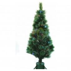 Новогодняя Ель NEON-NIGHT Сосна, фибро-оптика , фибро-оптика, 120 см, 83 ветки, с декоративными украшениями 533-203