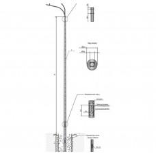 Опора OPORA ENGINEERING ТАНС.12.051.000 (НПК-6,0/7,25-02-ц)