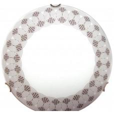 Вальс 250 НПБ 01-60-130 М15 матовый белый декор/кл.зол. ИУ свет-к ЭЛЕТЕХ